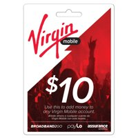 Virgin Mobile $10 Top Up (Email Delivery)