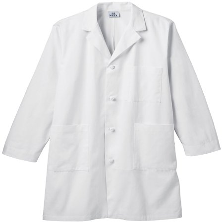 Chefs Coat Knotted Cotton Buttons (Meta Men's 40