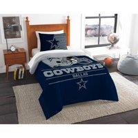 "NFL Dallas Cowboys ""Draft"" Bedding Comforter Set"