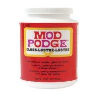 Mod Podge Fast Dry Tissue Glue and Glaze, 1 Pint Jar, Gloss