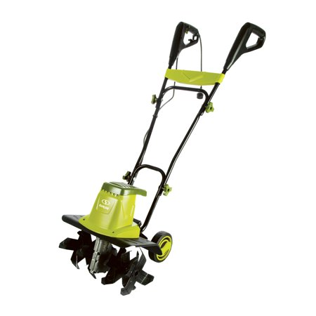 Sun Joe TJ603E Electric Garden Tiller/Cultivator | 16-Inch | 12 (Best Earthwise Electric Tiller Cultivator)