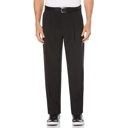 Pleated Golf - Men's Performance Active Flex Waistband Four Way Stretch Double Pleat Pant