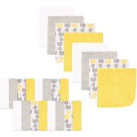 Luvable Friends Baby Washcloths, Yellow Ducks, 24 Pack