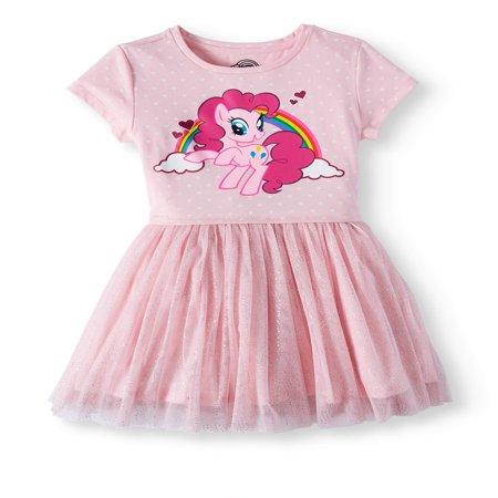 My Little Pony Foil Mesh Dress (Little Girls and Big - Adult Little Girl Dresses