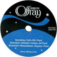 "Offray Single Face Satin Ribbon, 5/8"" x 18'"
