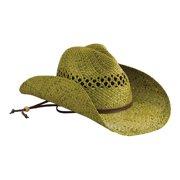 6d31d9d15d3187 Women's San Diego Hat Company Raffia Cowboy Hat RHC