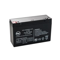 Tripp Lite Telecom TE600 (6 Volt, 12 Ah) 6V 12Ah UPS Battery - This is an AJC Brand Replacement