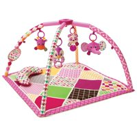Infantino See Play Go Sweet Safari Twist & Fold Activity Gym & Play Mat