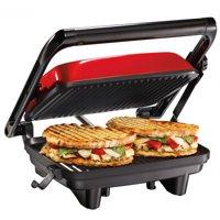 Hamilton Beach Panini Press Gourmet Sandwich Maker | Model# 25462Z