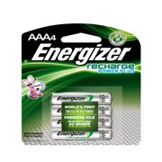 Energizer e2 Rechargeable 850mAh AAA Batteries, 4 / Pack (Quantity)