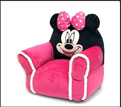 Disney Minnie Mouse Bean Chair  sc 1 st  Walmart & Toddler Girlsu0027 Chair