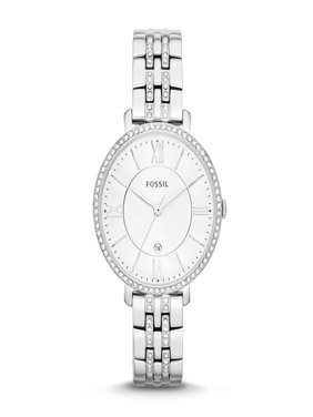 Fossil Women's Jacqueline Silver Tone Stainless Steel Watch (Style: ES3545)