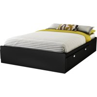 South Shore Spark Full Mates Bed (54'') with 4 Drawers, Multiple Finishes