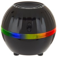 Air Innovations Ultrasonic Cool Mist Personal Humidifier LED Mood Light – Travel Size – For Small Rooms Up To 150 sq. ft. Black
