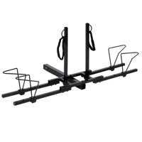 Costway Upright Heavy Duty 2 Bike Bicycle Hitch Mount Carrier Platform Rack Truck SUV