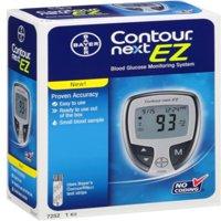 Bayer Contour Next EZ Blood Glucose Monitoring System Model, 7252