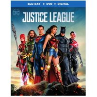 Justice League (2017) (Blu-ray + DVD + Digital)