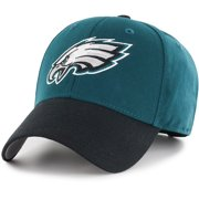 9a4b2616 Men's Fan Favorite Green/Black Philadelphia Eagles Two-Tone Adjustable Hat  - OSFA