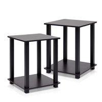 Furinno Turn-N-Tube Simplistic End Table, Set of Two