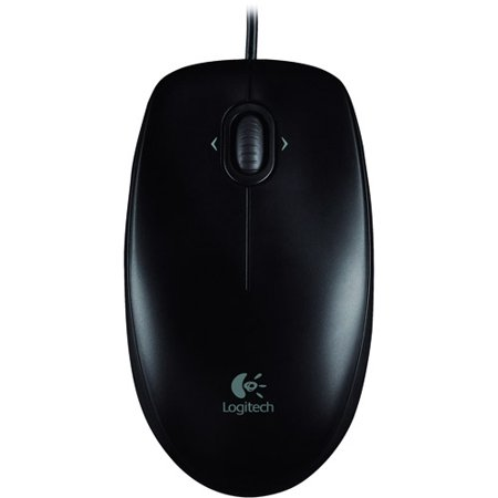 Contour Design Black Mouse (Logitech Corded Mouse M100)