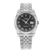 adb2389876d Rolex Datejust 116234 bkrj Stainless Steel   18K White Gold Automatic Men s  Watch