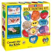69c07c5c Hide & Seek Rock Painting Kit - Craft Kit by Creativity for Kids