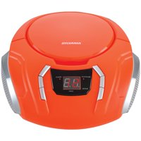 SYLVANIA SRCD261 Portable CD Players with AM/FM Radio (Orange)