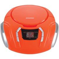 SYLVANIA SRCD261 Portable CD Players with AM/FM Radio (Orange)