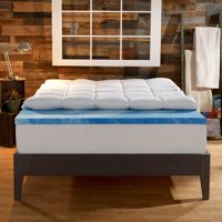 Sleep Innovations 4'' Memory Foam Mattress Topper