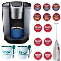 Keurig K-Elite Single Serve K-Cup Pod Coffee Maker, Brushed Slate Bundle