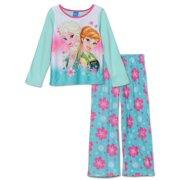 Disney Frozen Girls Fleece Pajama Set 85fb16a39