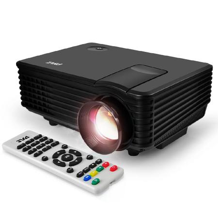 PYLE PRJG88 - Compact Digital Multimedia Projector with 1080p HD Support, Up to 80'' inch Display, USB/HDMI (Mac & PC (Kopykake 300xk Projector Best Price)