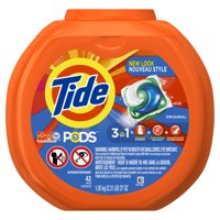 Tide PODS Original Scent HE Turbo Liquid Detergent Pacs, 42 count