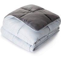 Linenspa All-Season Reversible Down Alternative Microfiber Comforter