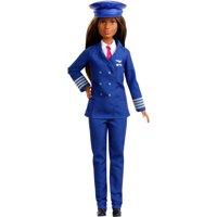 Barbie 60th Anniversary Careers Pilot Doll with Themed Accessories