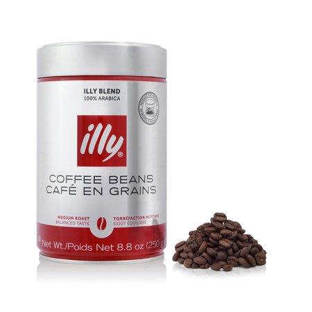 - Illy Whole Bean Medium Roast Coffee, 8.8 Oz