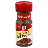 (2 Pack) McCormick Crushed Red Pepper, 2.62 oz. Shaker