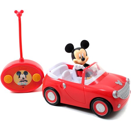 Jada Toys Disney Mickey Mouse Radio Control Roadster](Mickey Mouse Remote Control Car)