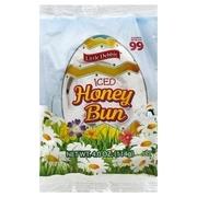 Little Debbie Snack Iced Honey Buns Snack Cakes, 4 oz