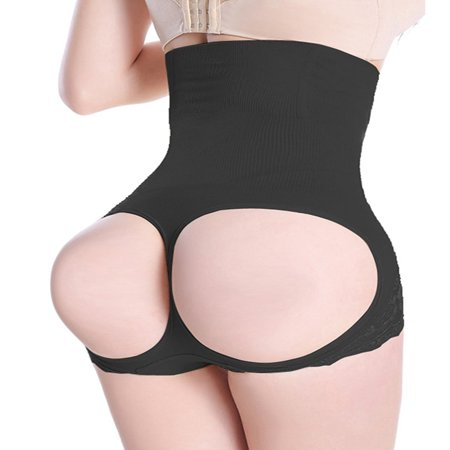 Womens Firm Control Shapewear Butt Lifter Shaper Waist Trainer Cincher Tummy Control Body Shaping Boyshorts Hi-waist Thigh Slimmer Pants - Body Shaper For Women