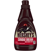 (3 Pack) Hershey's, Sundae Dream Double Chocolate Syrup, 15 oz