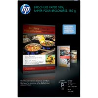 HP, HEWCG932A, Glossy Inkjet Brochure Paper, 1 / Pack, White