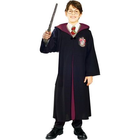 Harry Potter Deluxe Child Halloween Costume](Halloween Costumes With Black Glasses)