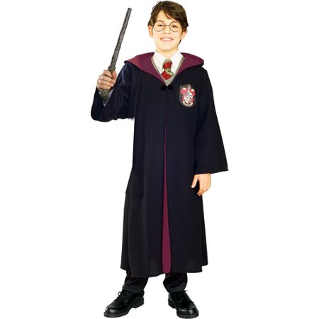 Harry Potter Deluxe Child Halloween Costume - Long Black Hair Costume