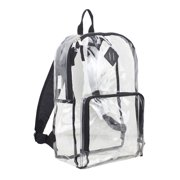 f19c297a8608 Eastsport Multi-Purpose Clear Backpack with Front Pocket