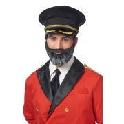 d5205b8387a Captain Obvious Moustache and Beard Adult Costume Accessory Set