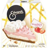 Edwards Strawberry Crme Pie 25 oz. Box