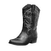 0dacc9d8595 SheSole Women's Western Cowgirl Cowboy Boots
