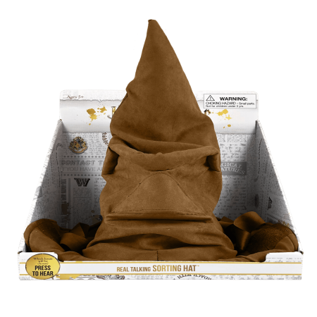 Harry Potter Talking Sorting Hat (Harry Potter Knit Hat N Scarf)