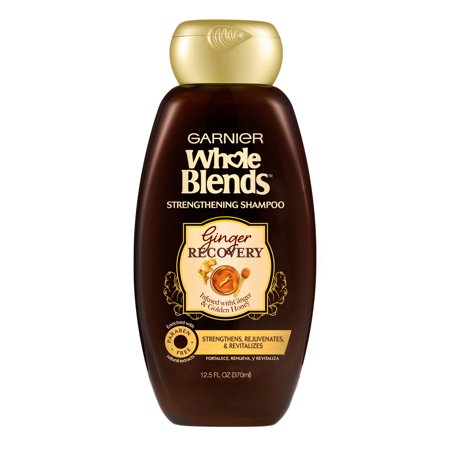 Garnier Whole Blends Ginger Recovery Strengthening Shampoo , 12.5 fl. oz.